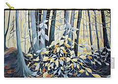 Carry-all Pouch featuring the painting Natures Dance by Joanne Smoley