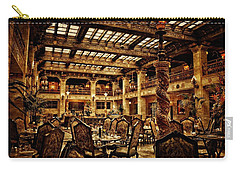The Historic Davenport Hotel  Carry-all Pouch