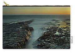 Davenport Landing Beach At Golden Hour Carry-all Pouch