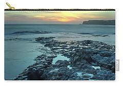 Davenport Landing Beach At Sunset Carry-all Pouch
