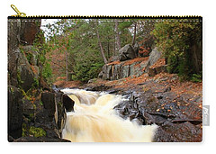 Dave's Falls #7277 Carry-all Pouch by Mark J Seefeldt