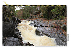Dave's Falls #7284 Carry-all Pouch by Mark J Seefeldt