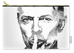 David Bowie Bw Carry-all Pouch
