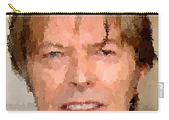 David Bowie Portrait Carry-all Pouch