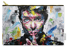 David Bowie Shh Carry-all Pouch