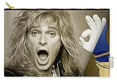 David Lee Roth Collection Carry-all Pouch by Marvin Blaine