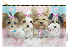 Davidson's Furbabies Carry-all Pouch by Catia Cho