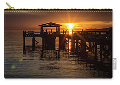 Davis Bay Pier Sunset Carry-all Pouch