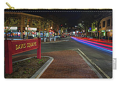 Davis Square Sign Somerville Ma Mikes Carry-all Pouch