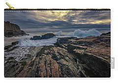 Carry-all Pouch featuring the photograph Dawn At Bald Head Cliff by Rick Berk