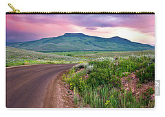 Dawn At Flattop Mountain Carry-all Pouch