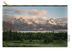 Dawn At Grand Teton National Park Carry-all Pouch
