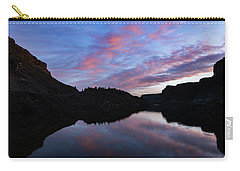 Carry-all Pouch featuring the photograph Dawn At Lake Billy Chinook by Cat Connor