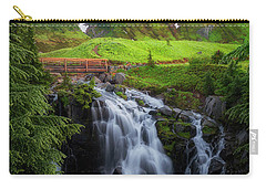Dawn At Myrtle Falls Carry-all Pouch