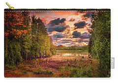 Dawn At The Lake Carry-all Pouch