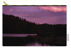 Carry-all Pouch featuring the photograph Dawn Big Ditch Wildlife Management Area by Thomas R Fletcher