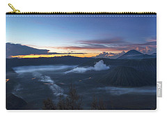 Dawn Breaking Scene Of Mt Bromo Carry-all Pouch