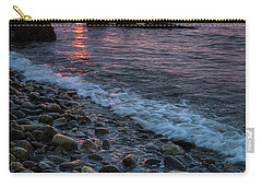 Carry-all Pouch featuring the photograph Dawn, Camden, Maine  -18868-18869 by John Bald