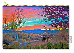 Dawn In El Prado  Carry-all Pouch