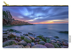 Dawn In Monument Cove Carry-all Pouch by Rick Berk