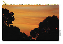 Dawn In The Forest Carry-all Pouch by Mark Blauhoefer