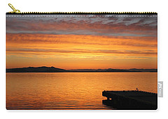 Dawn In The Sky At Dusavik Carry-all Pouch