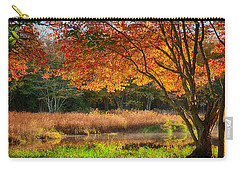 Dawn Lighting Rhode Island Fall Colors Carry-all Pouch
