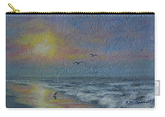 Dawn Mist - Three Gulls Carry-all Pouch