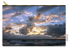 Dawn Of A New Day Treasure Coast Florida Seascape Sunrise 138 Carry-all Pouch