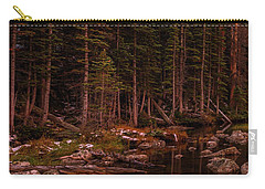 Carry-all Pouch featuring the photograph Dawn Of Dreams Triptych Left by Dustin LeFevre