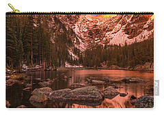Carry-all Pouch featuring the photograph Dawn Of Dreams Triptych Middle by Dustin LeFevre