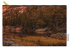 Carry-all Pouch featuring the photograph Dawn Of Dreams Triptych Right by Dustin LeFevre