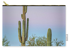 Dawn Of Saguaros Carry-all Pouch