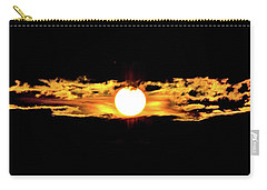 Carry-all Pouch featuring the photograph Dawn Of The Golden Age by Az Jackson