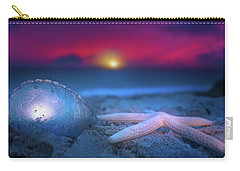 Carry-all Pouch featuring the photograph Dawn Of The Warriors by Mark Andrew Thomas