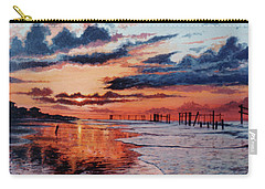 Dawn On Crystal Beach Carry-all Pouch