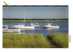 Dawn On The Harbor Carry-all Pouch