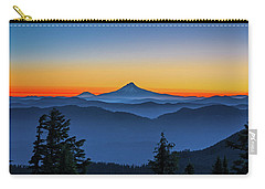 Dawn On The Mountain Carry-all Pouch