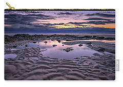 Carry-all Pouch featuring the photograph Dawn On Wells Beach by Rick Berk