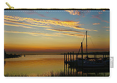 Dawn Over The Bay Carry-all Pouch