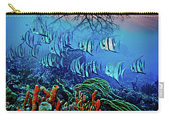 Carry-all Pouch featuring the photograph Dawn Over The Reef by Debra and Dave Vanderlaan