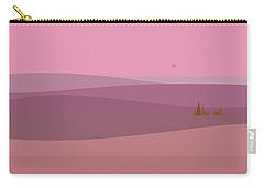 Dawn Pink Sunrise Carry-all Pouch