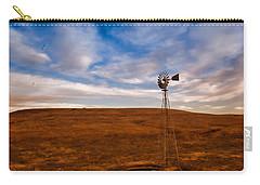Dawn Prairie Windmill Carry-all Pouch