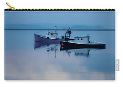 Carry-all Pouch featuring the photograph Dawn Rising Over The Harbor by Jeff Folger