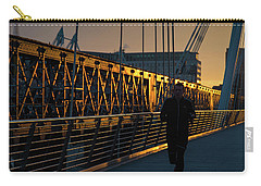 Carry-all Pouch featuring the photograph Dawn Run by Alex Lapidus