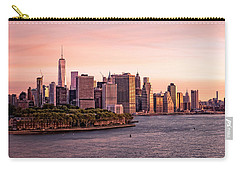 Dawn's Early Morning Light On New York City Carry-all Pouch