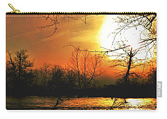 Carry-all Pouch featuring the photograph Day Break by EDi by Darlene