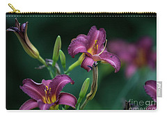 Day Lily Carry-all Pouch by David Bearden