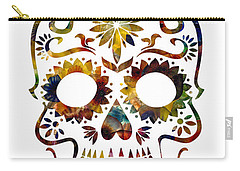Day Of The Dead Carry-all Pouch