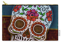 Carry-all Pouch featuring the photograph Day Of The Dead  by Mitch Shindelbower